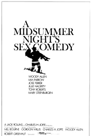 A Midsummer Night's Sex Comedy (1982) Poster - Movie Forum, Cast, Reviews