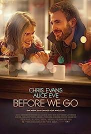 Before We Go(2014) Poster - Movie Forum, Cast, Reviews