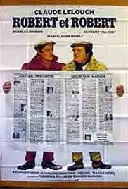 Robert et Robert Poster
