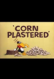 Corn Plastered Poster