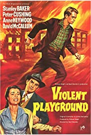 Violent Playground Poster