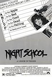 Night School (1981) Poster - Movie Forum, Cast, Reviews