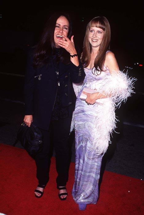 China Kantner and Grace Slick at The Evening Star (1996)
