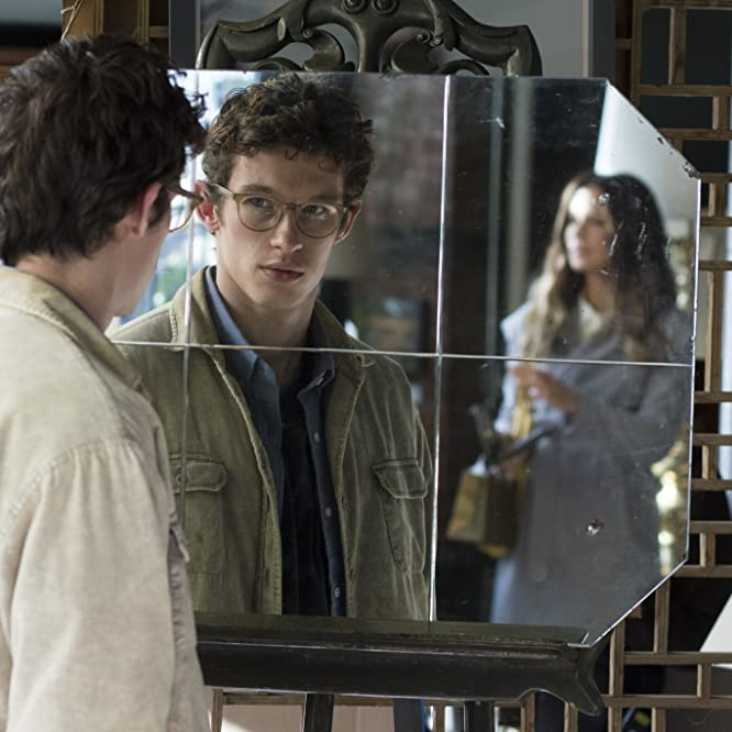 Kate Beckinsale and Callum Turner in The Only Living Boy in New York (2017)