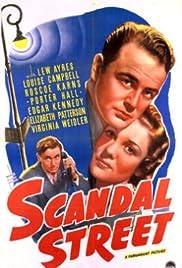 Scandal Street Poster