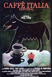 Caffe Italia Montréal Poster