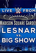 WWE Live from MSG 2015