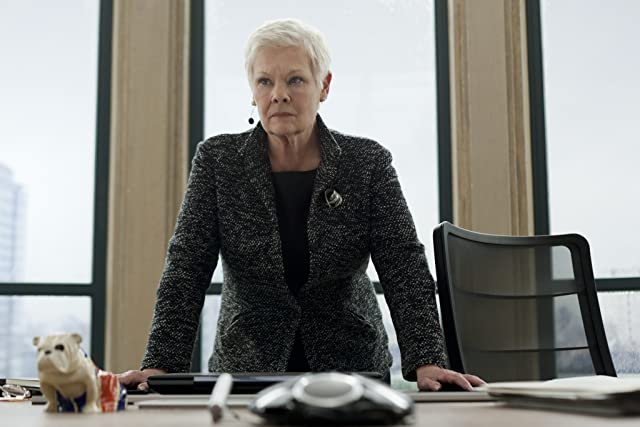 Judi Dench in Skyfall (2012)