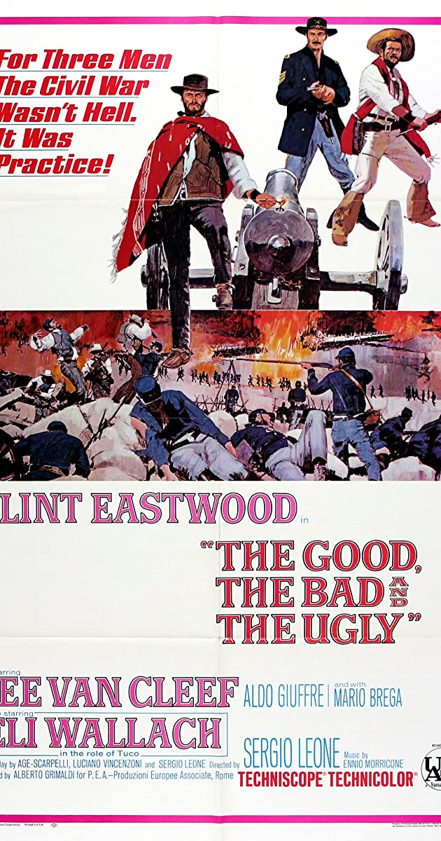 Geras, blogas ir bjaurus / The Good, the Bad and the Ugly (1966) Online
