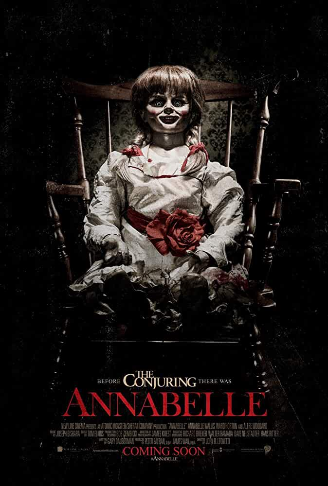 Poster Annabelle (2014) Full HD Movie Download Hindi Dubbed 720p