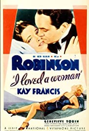 I Loved a Woman (1933) Poster - Movie Forum, Cast, Reviews