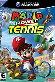Mario Power Tennis Poster