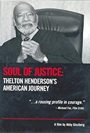 Soul of Justice: Thelton Henderson's American Journey Poster