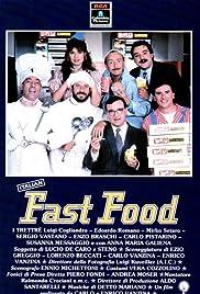 Italian Fast Food Poster