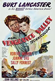 Vengeance Valley (1951) Poster - Movie Forum, Cast, Reviews