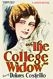 The College Widow Poster