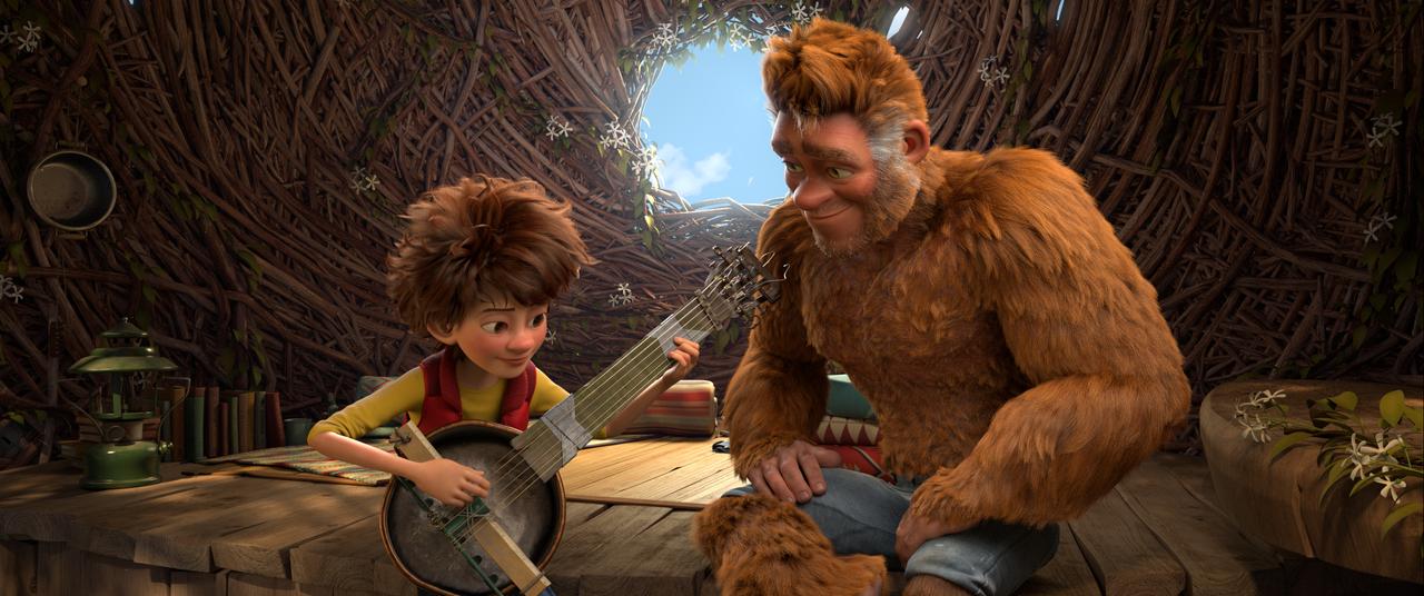 El hijo de Piegrande (The Son of Bigfoot)