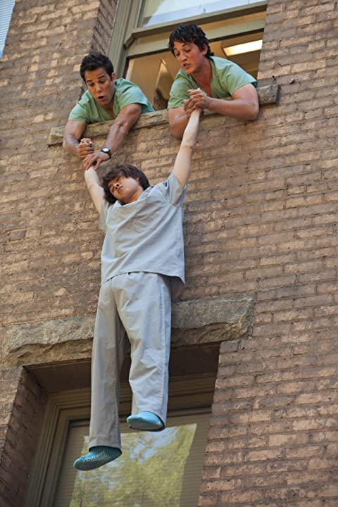 Miles Teller, Justin Chon, and Skylar Astin in 21 & Over (2013)