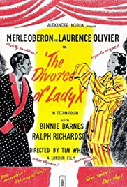 The Divorce of Lady X Poster
