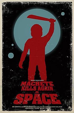 Poster Machete Kills in Space