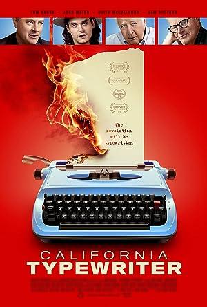 California Typewriter (2016)