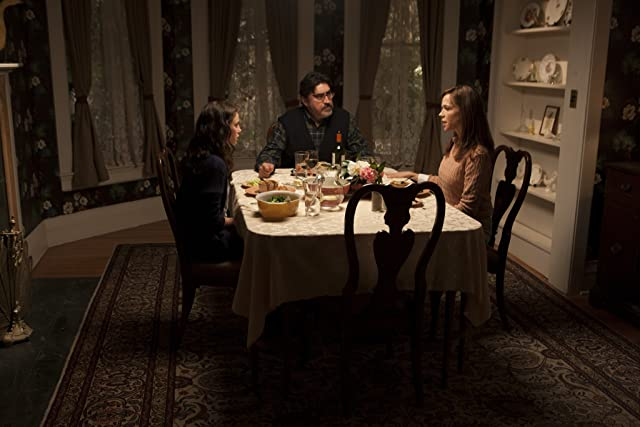 Alfred Molina, Frances O'Connor, and Kaya Scodelario in The Truth About Emanuel (2013)