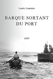 Barque sortant du port Poster