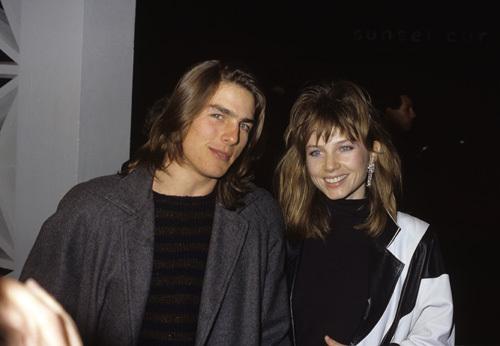 Tom Cruise and Rebecca De Mornay circa 1980s