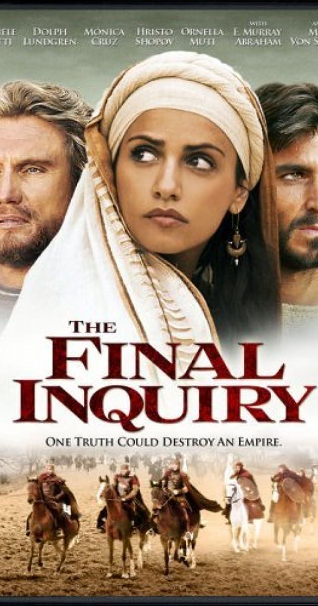 The Final Inquiry 2006 Imdb