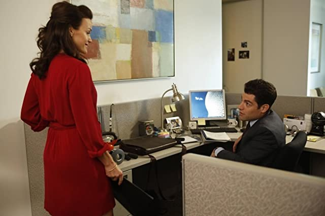 Carla Gugino and Max Greenfield in New Girl (2011)