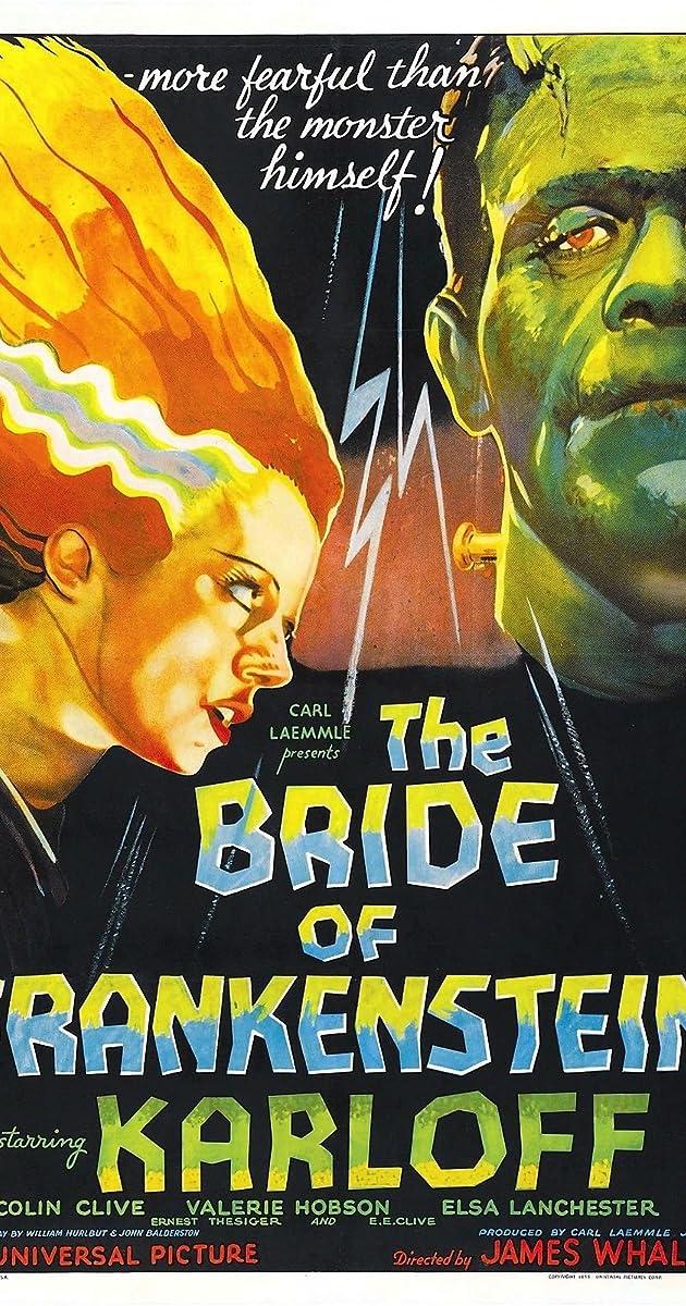 Image result for bride of frankenstein