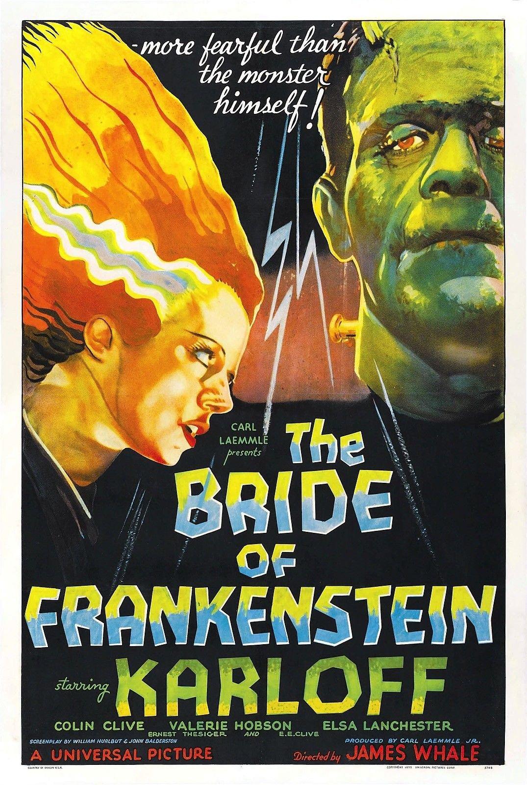 image Bride of Frankenstein Watch Full Movie Free Online