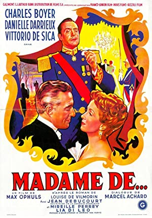 The Earrings of Madame de... poster