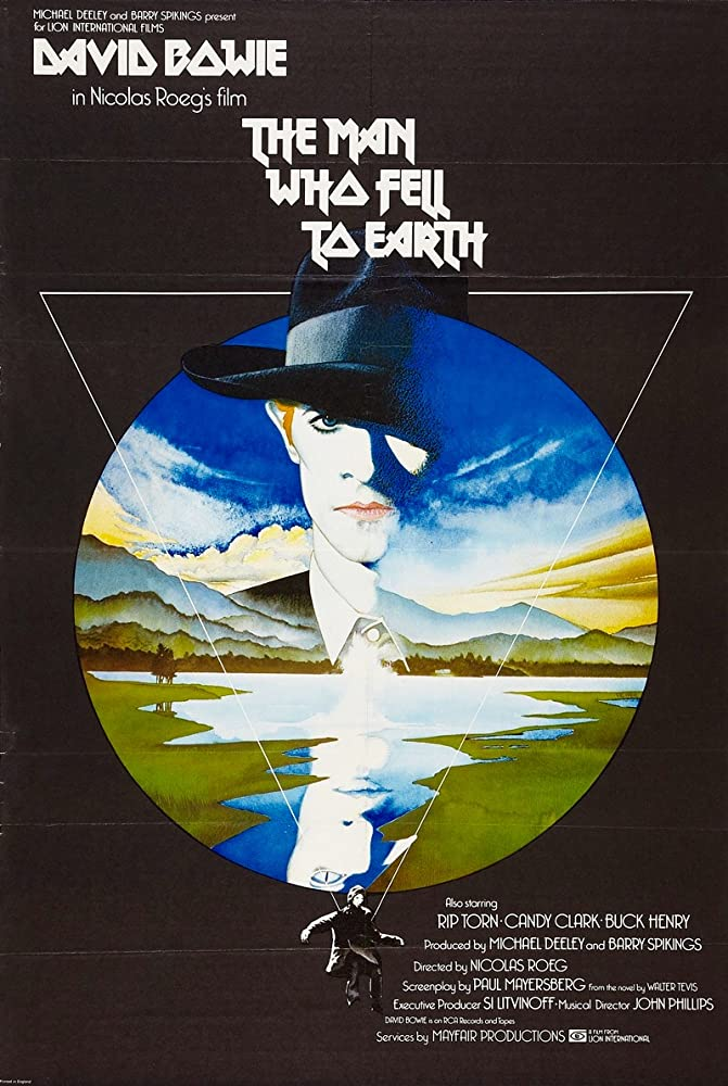 The Man Who Fell to Earth BluRay