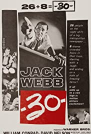 -30- (1959) Poster - Movie Forum, Cast, Reviews