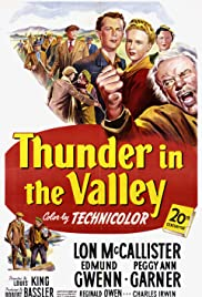 Thunder in the Valley Poster