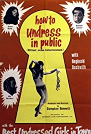 How to Undress in Public Without Undue Embarrassment Poster