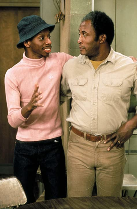 John Amos and Jimmie Walker