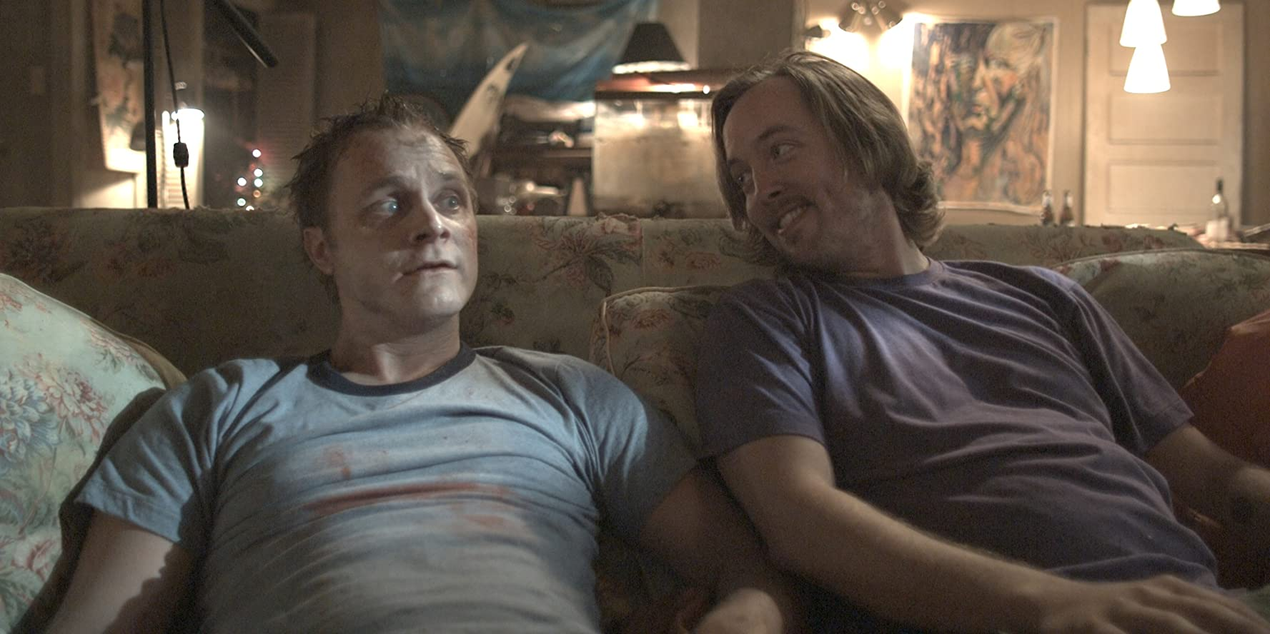Chris Wylde and David Anders in The Revenant (2009)