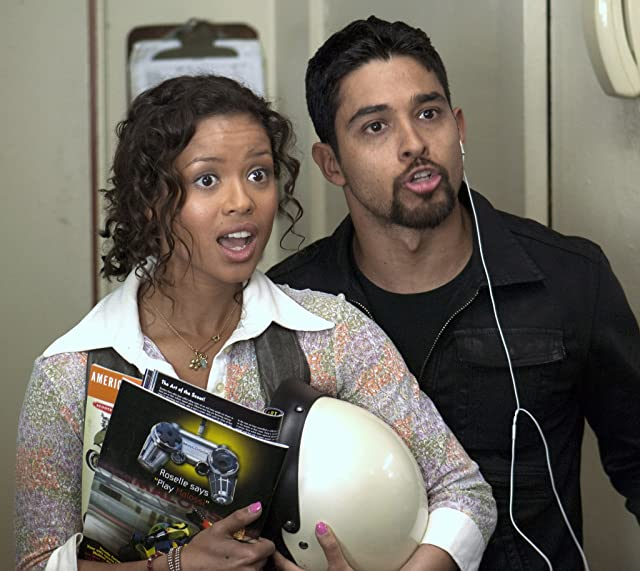 Wilmer Valderrama and Gugu Mbatha-Raw in Larry Crowne (2011)