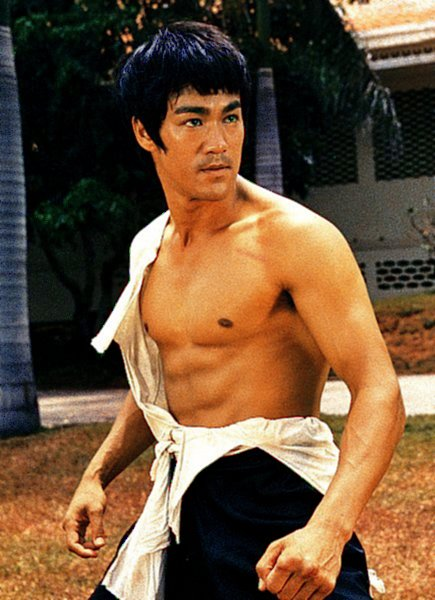 Bruce Lee in The Big Boss (1971)