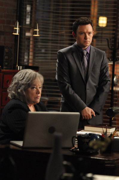 Kathy Bates and Nate Corddry in Harry's Law (2011)