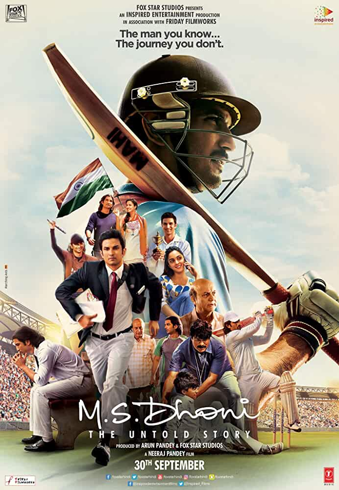 M.S. Dhoni The Untold Story 2016 720p HDRip Watch online Free Download