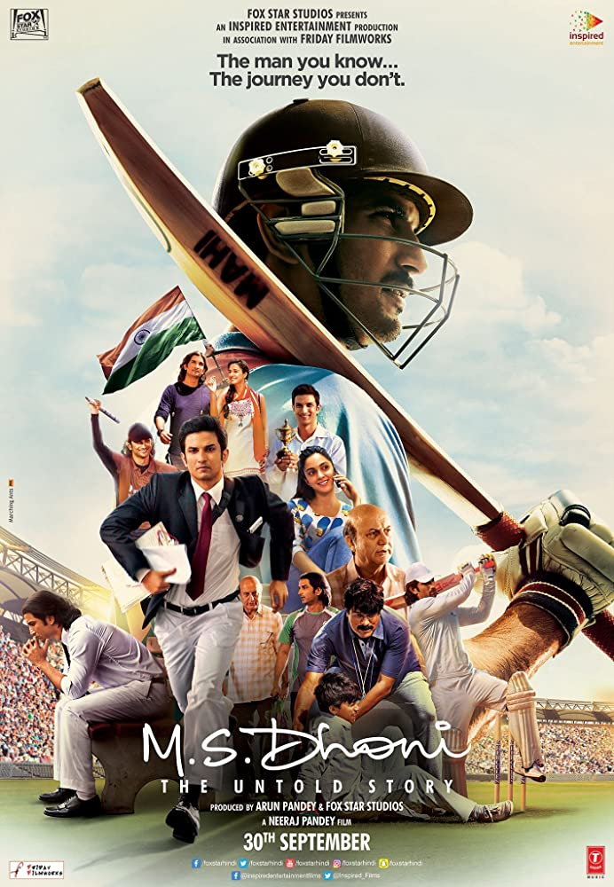 M.S Dhoni: The Untold Story (2016) Full Movie Download For Free