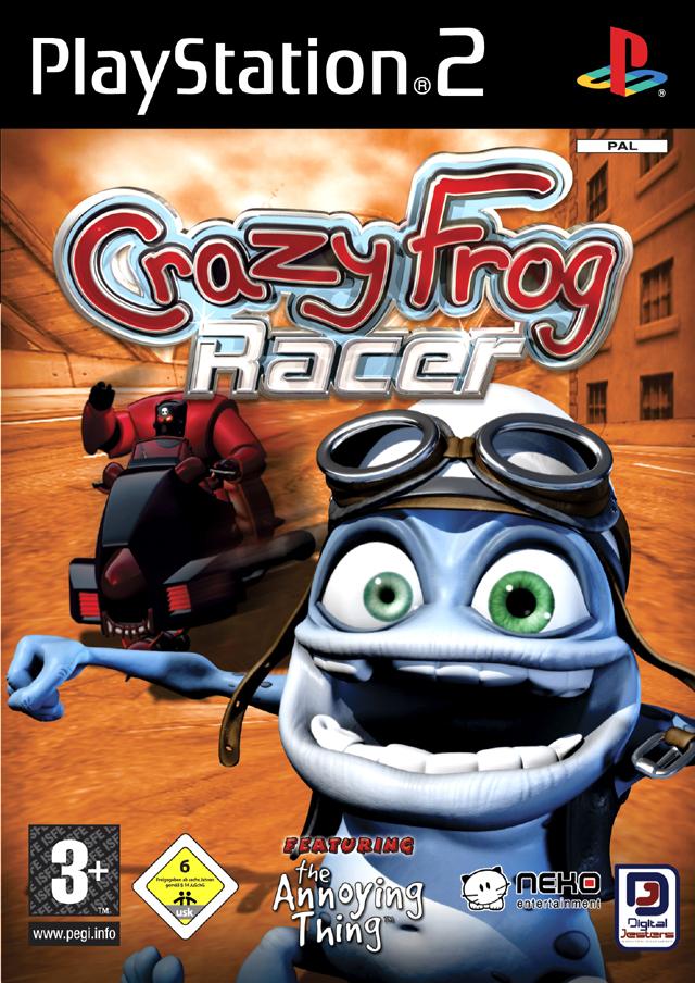 Crazy frog racer / крейзи фрог гонки скачать торрентом.