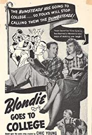 Blondie Goes to College Poster