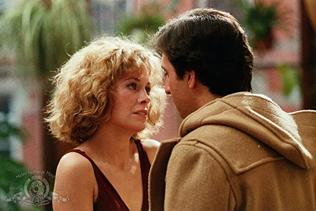 Catherine Hicks and Ron Silver in Garbo Talks (1984)