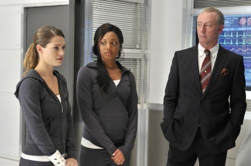 Lyndsy Fonseca and Tiffany Hines in Nikita (2010)