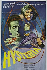 Hysteria (1965) Poster - Movie Forum, Cast, Reviews