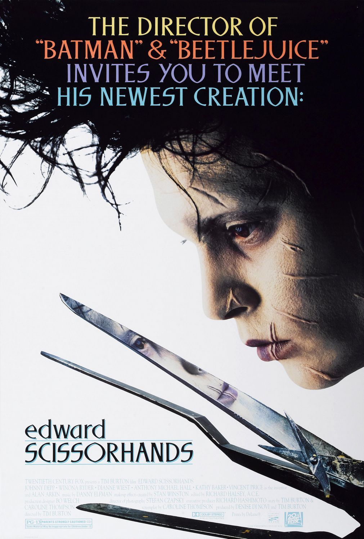 Edward Scissor Hands Poster